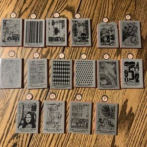 Select any ATC Rubber stamps 4.00 each